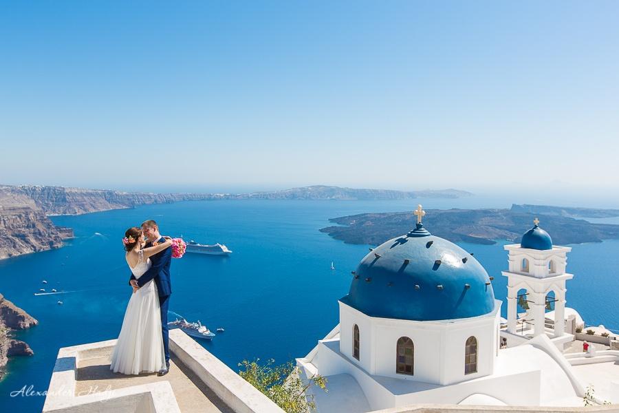 готов свадебная фотосессия на санторини высоты