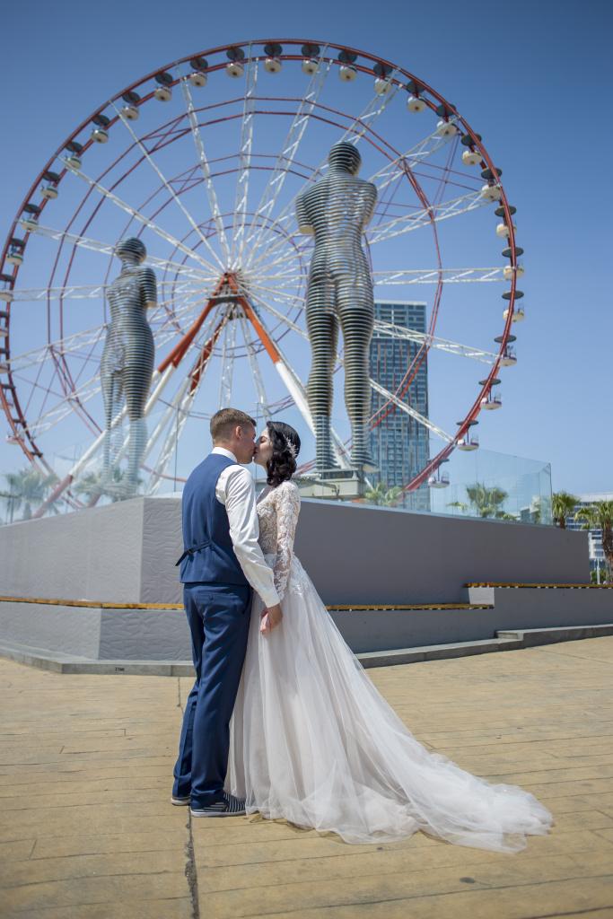 свадебная фотосессия в батуми диснея