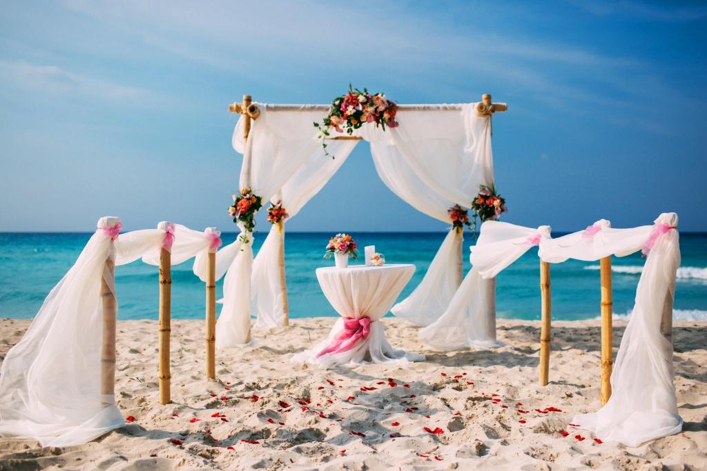 можно свадебная церемония на варадеро фото туристов брюки слаксы стильный