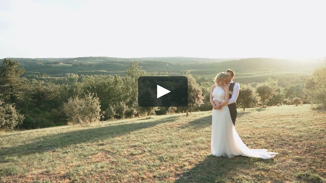 The Film Wedding of Ciara & Arnaud (English Wedding  in France)