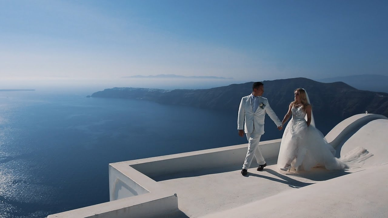 Wedding Day Christian and Elizabeth. Santorini 2019