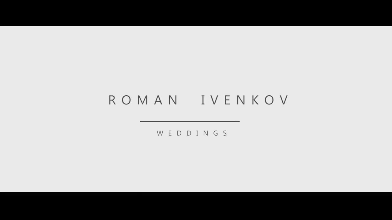 Roman Ivenkov Weddings Promo