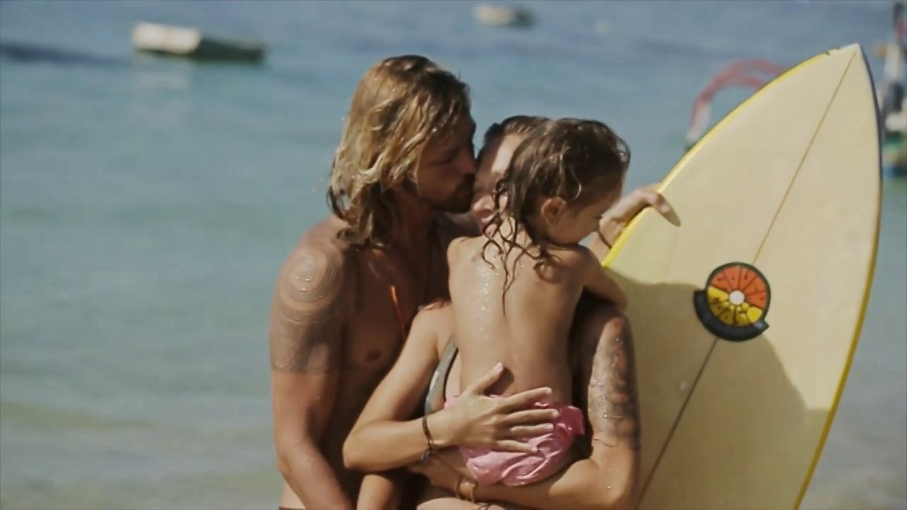 Surf family story in Bali