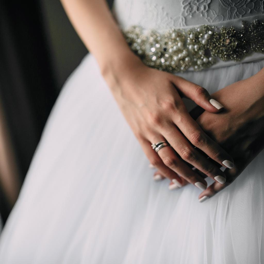 Свадебное фото кольца идея