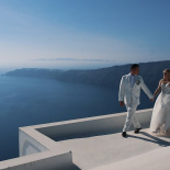 Wedding Day Christian and Elizabeth. Santorini